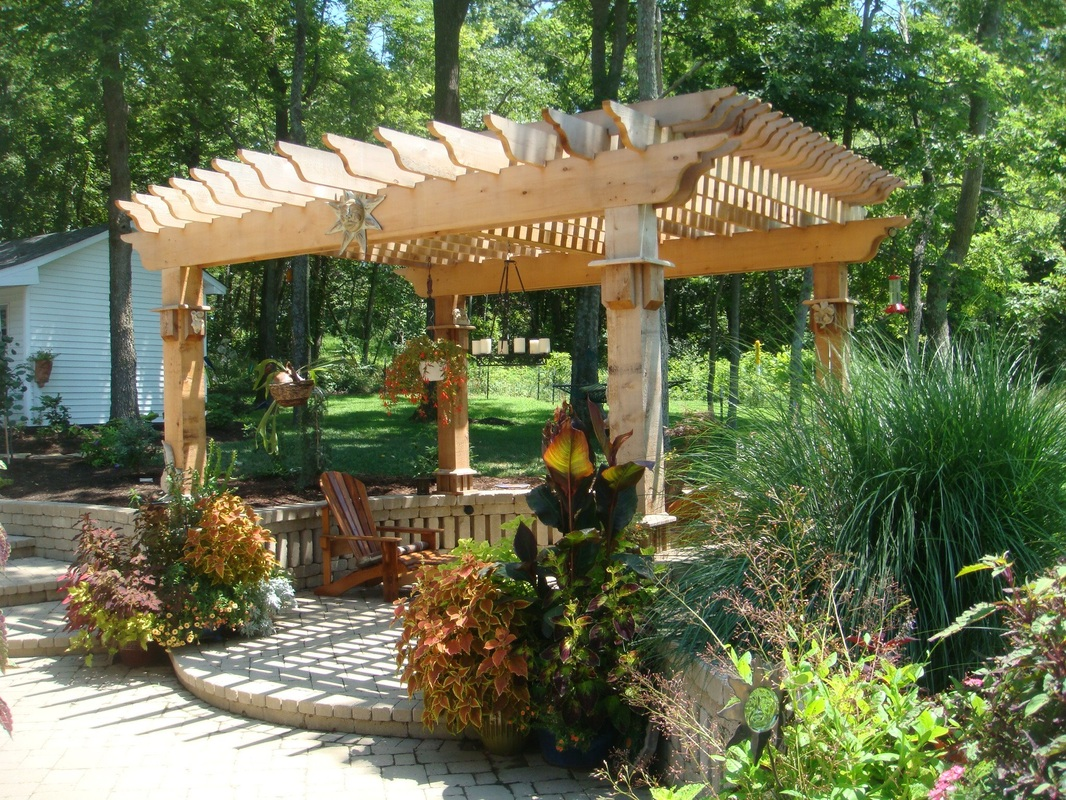 Backyard landscape structures 28 images garden for Outdoor structure plans